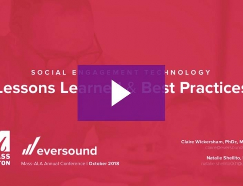 Social Engagement Technology: Lessons Learned & Best Practices