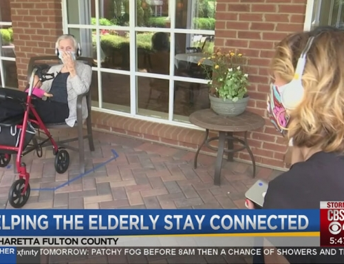 Technology helps seniors stay connected during the pandemic